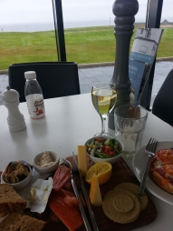 .. much improved by smoked fish and wine at the Storehouse cafe (http://www.naturalretreats.com/outfitters/john-o-groats/storehouse/)