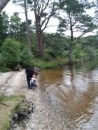 Paddling at Loch Eck