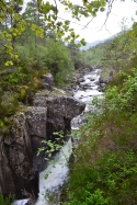 Dog Falls (maybe?) at Glen Affric