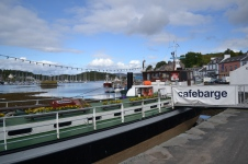 Cafebarge, Tarbert. Tapas, you say? In Tarbert? Si.